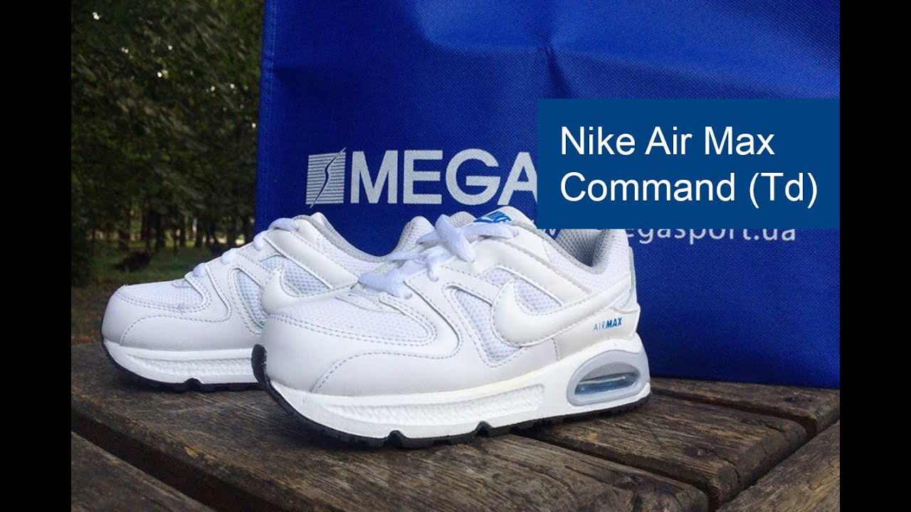 separation shoes f7c92 89fb0 Nike Air Max Command (Td) обзор