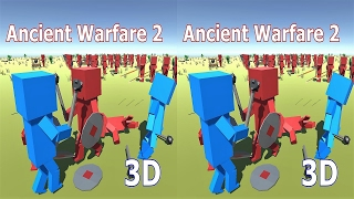 3D VR box TV стрим Ancient Warfare 2 Side by Side SBS stream