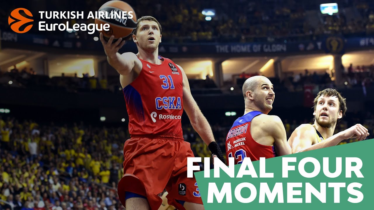 Final Four moments: Khryapa saves the day for CSKA, 2016