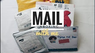 k-pop mail unboxing with me | exo - growl album , aliexpress stationery haul