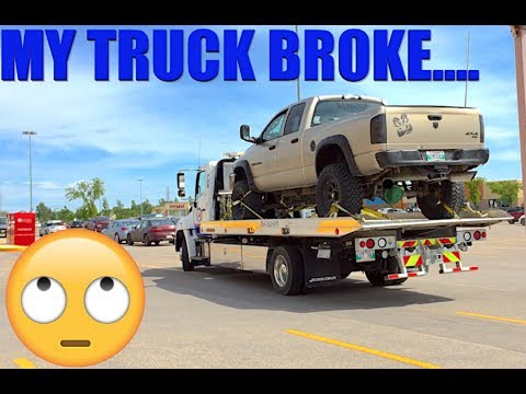 MY TRUCK BROKE AGAIN   HYPE FOR NEXT VIDEO!