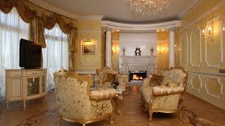 интерьер Гостиной - классика - 2018 / Interior Living Room - Classic / Interior Wohnzimmer - Klassik