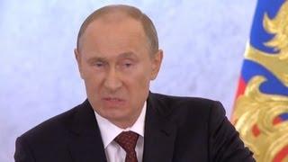 Путин сказал правду о своих целях