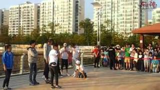 [BaiduTVXQ] 121002 TVXQ - Recording Running Man Ep 115 - Chicken Fight