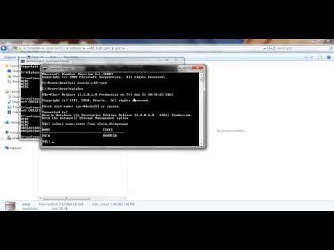Grid infrastructure installation standalone server for Windows