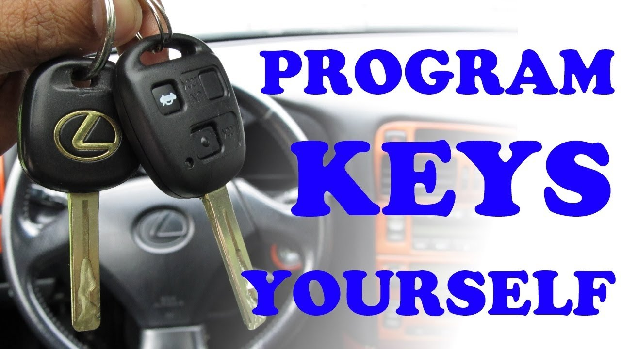 Toyota Lexus Remote Amp Immobilizer Key Programming Youtube