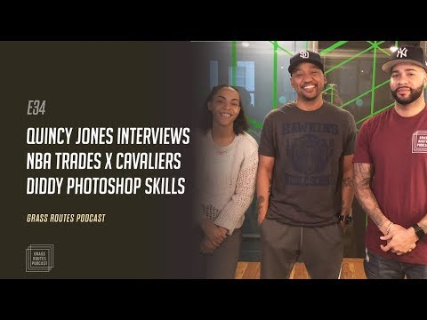 Quincy Jones crazy interview, LeBron's NBA control & Diddy's Instagram | Grass Routes Podcast