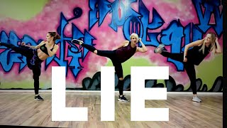 Lie by NF Easy Cardio  Kickboxing  for Zumba Dancefit Cardio Workout ballet Video