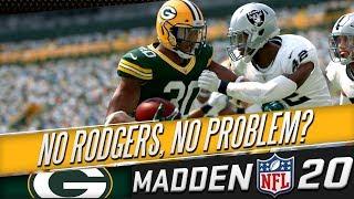 Madden 20 Franchise - Green Bay Packers Episode 9 - Week 7 VS Oakland Raiders