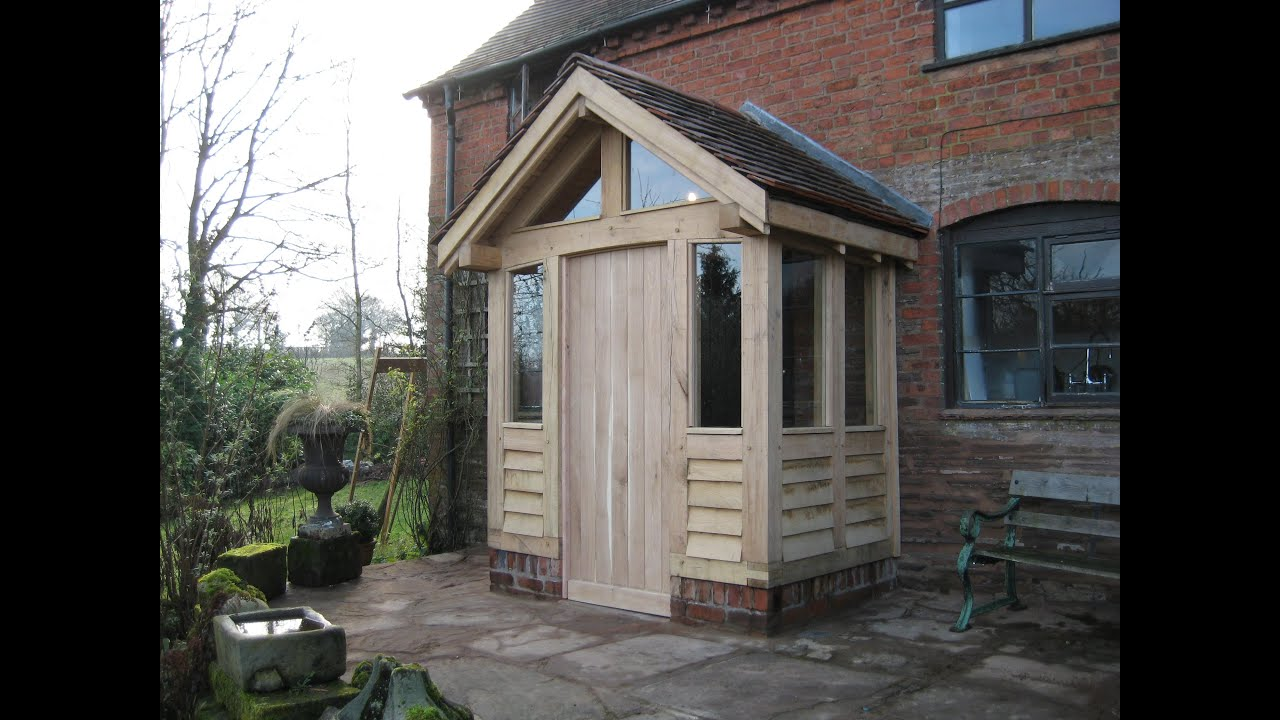 Contemporary front porch designs uk gates andrew page for Timber frame porches