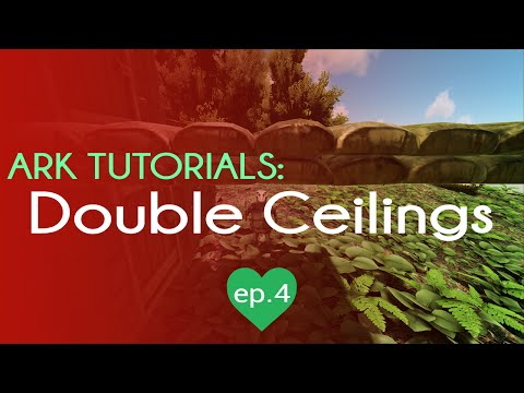 How to build a Double Layer Ceiling   TL;DR Tricks   Ark Survival Evolved   Episode 4