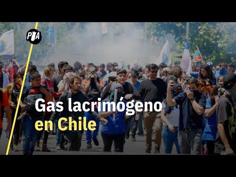 ¿Qué es el gas lacrimógeno?