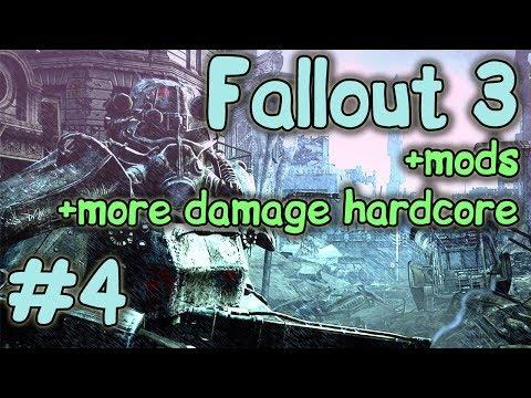 Прем в длс. Батя кинул. Fallout 3 one-shot hardcore. (modded)
