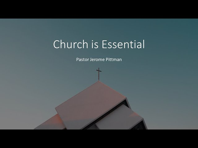 [Original Livestream (Unlisted at Pastor's request.)]: Church is Essential · 210719 9 AM · Pastor...
