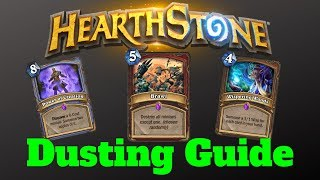 Hearthstone Class Epic Disenchanting Guide! Hearthstone Rise of Shadows Guide (2019)