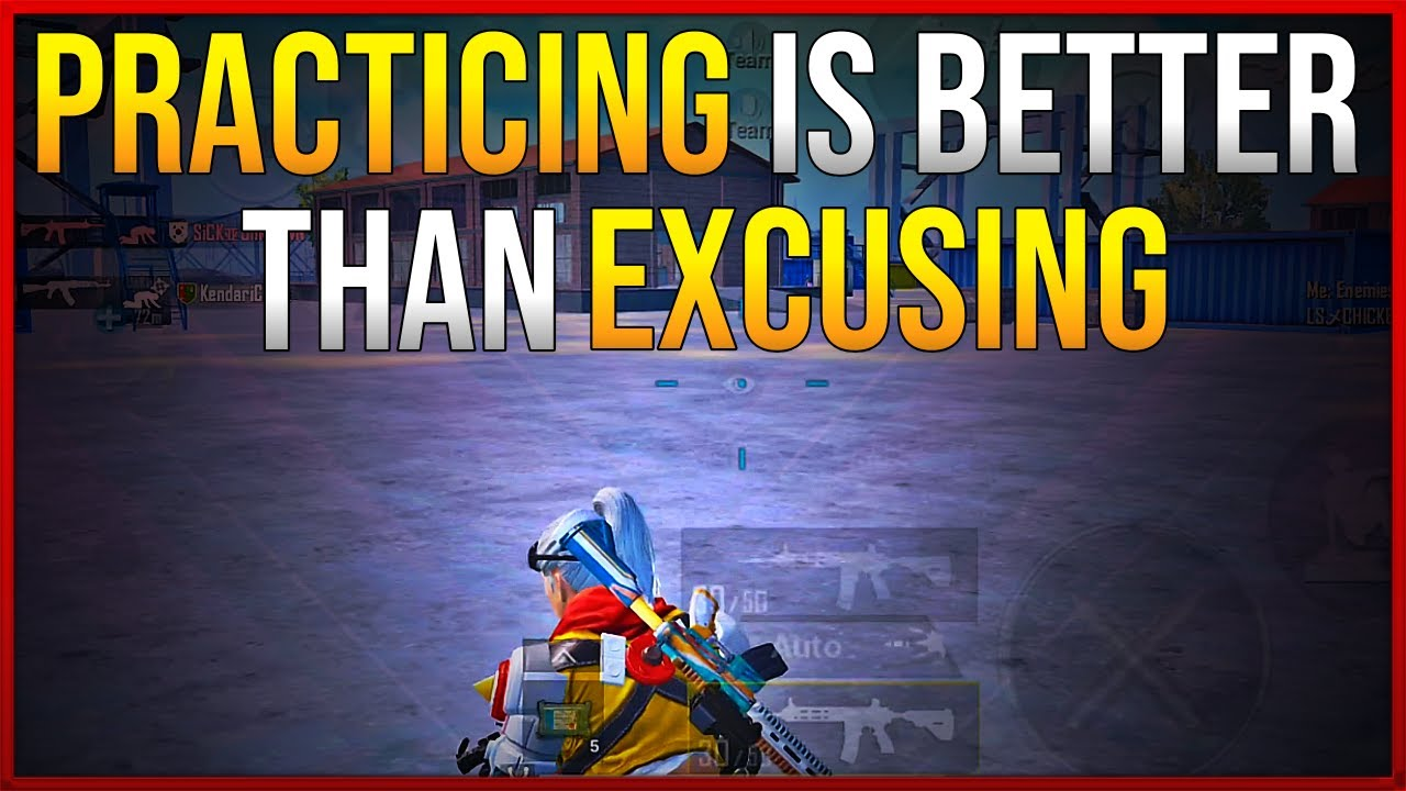 PRACTICING IS BETTER THAN EXCUSING | THIS IS HOW PRACTICE CAN CHANGE YOUR GAMEPLAY | PUBG MOBILE