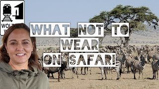 What Not to Wear on a Safari