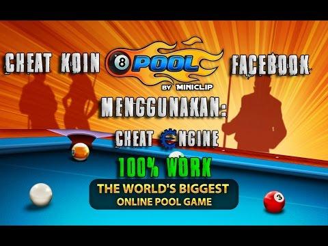 Cheat Koin 8 Ball Pool Menggunakan Cheat Engine