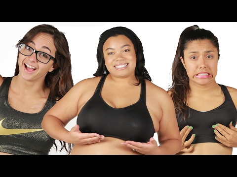 Women Test Different Sports Bras