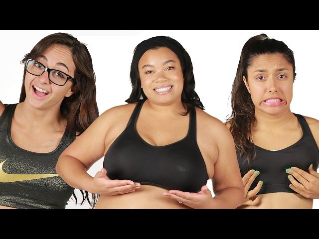 Women Test Different Sports Bras