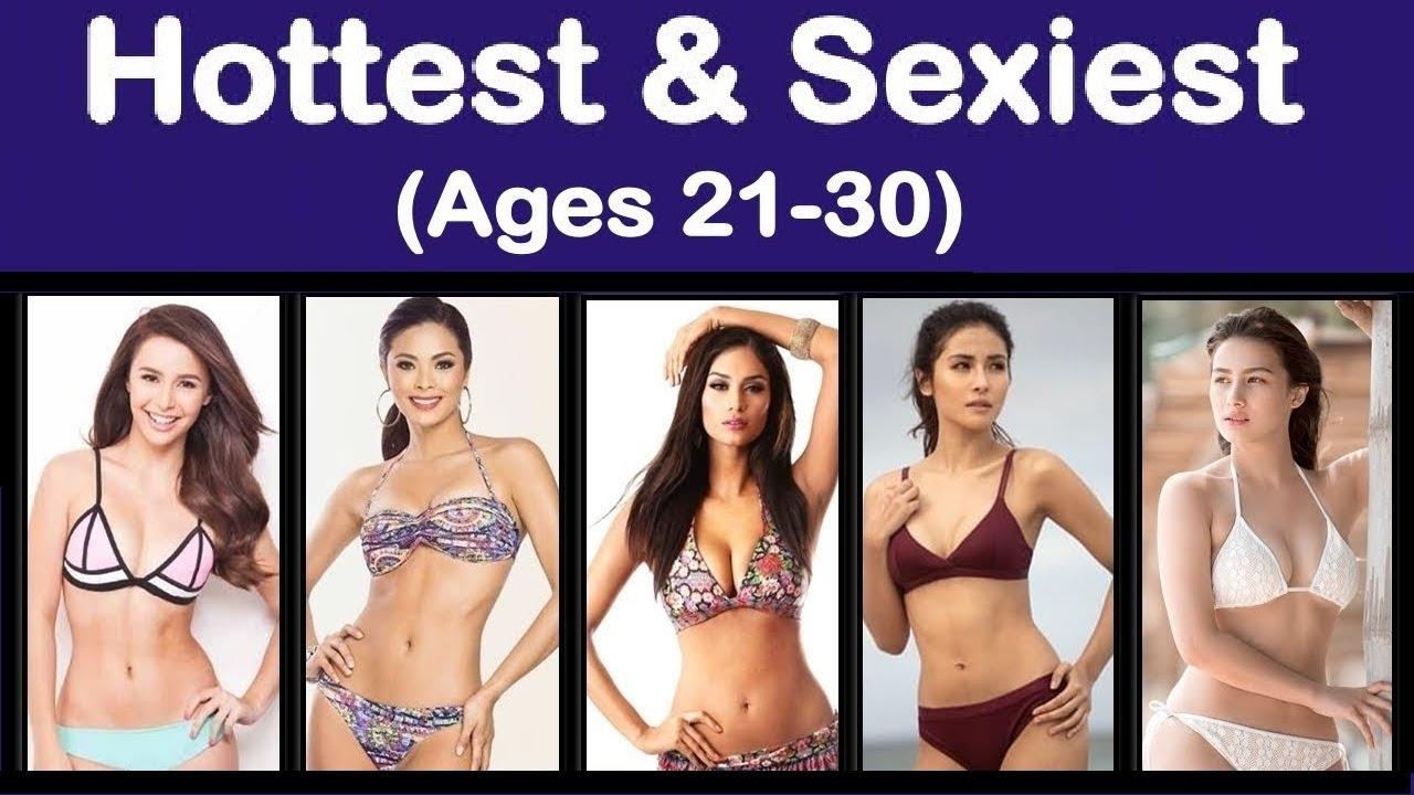 Filipina bikini sexy Top 10