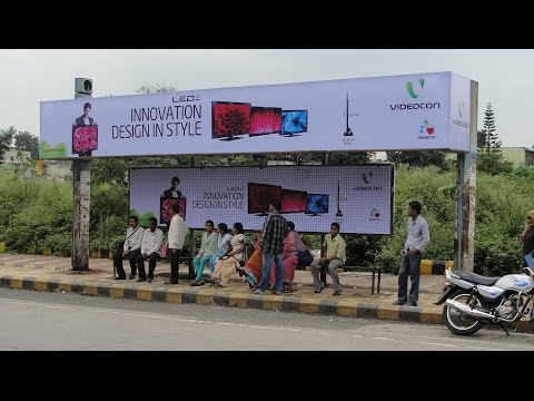 Bus Panel, Bus Shelter Advertise Photos, Sizes, Advertising Details in  Pune - Sakshi Advertising