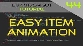 Minecraft Bukkit/Spigot Plugin Tutorial #44: Easy Item Animation (ArmorStand)