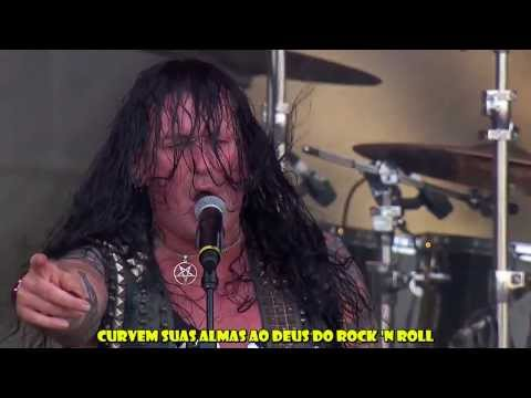 Destruction + Krisiun - Black Metal (Venom Cover) Legendado HD Live Rock in Rio 2013