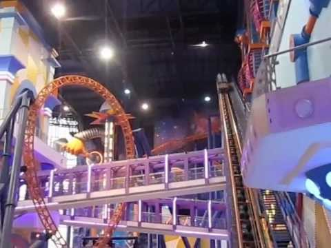 Times square indoor roller coaster kuala lumpur malaysia for Things to in times square