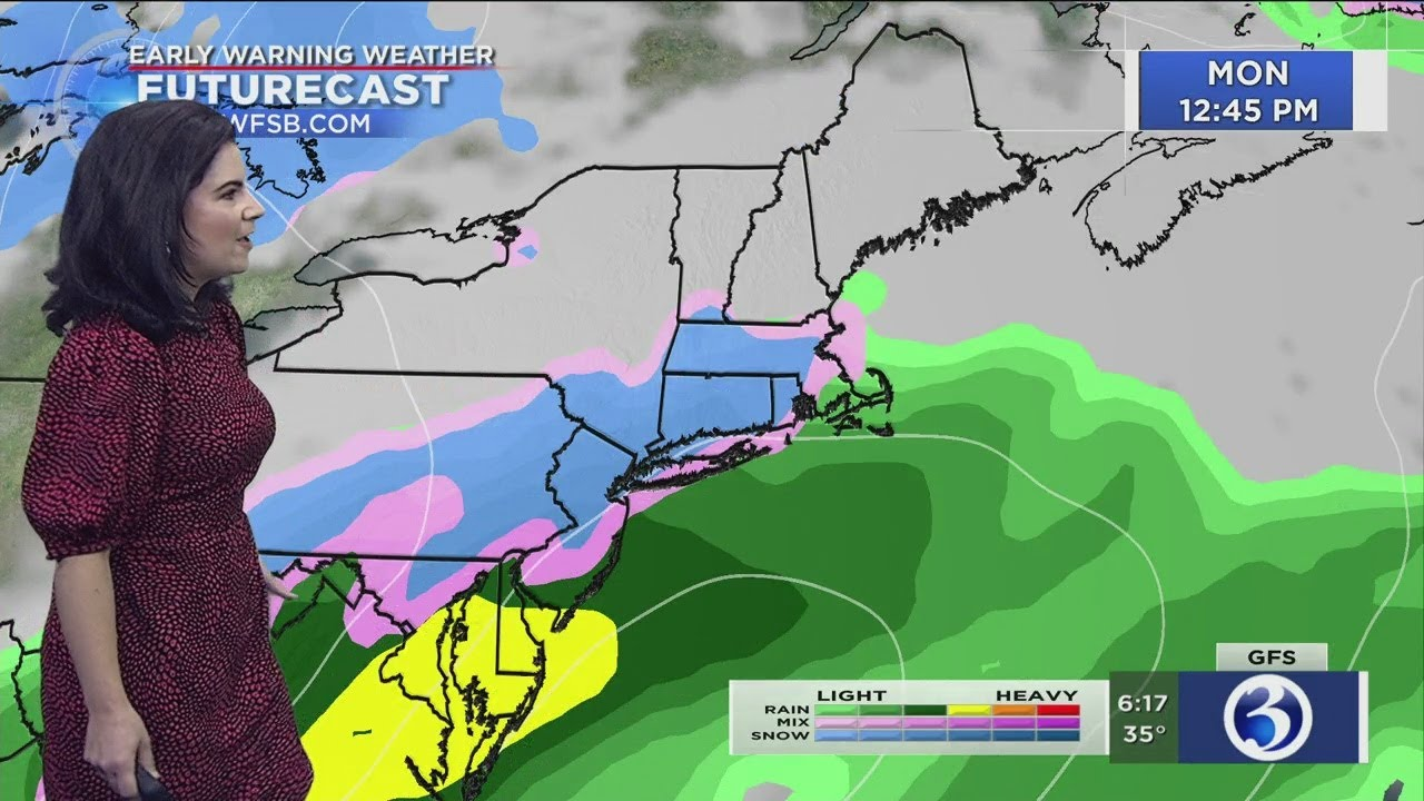 Snow is in the forecast for this week. Here's what you should know.