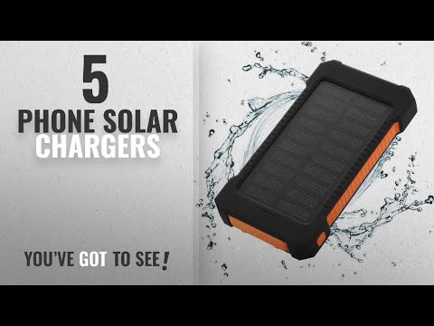 ALLPOWERS 10000mAh Solar Charger with Foldable Solar Panels