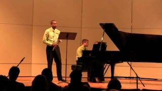 Concerto for Flute, Carl Nielsen Mvt 2    James Miller, flute  Richard Auvil, piano