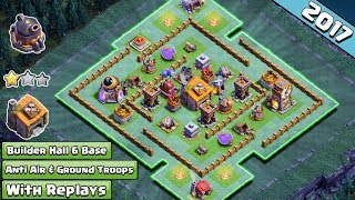 BUILDER HALL 6 (BH6) MOST POPULAR IN CHINA TESTED +3400🏆 w REPLAY PROOF ANTI ALL CLASH OF CLANS