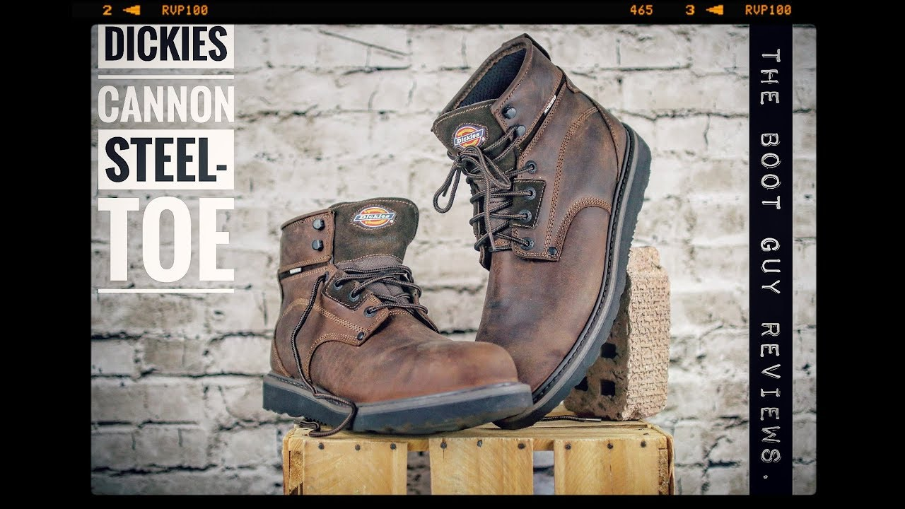 678fc644d32 Dickies Cannon Industrial Boot [ The Boot Guy Reviews ]