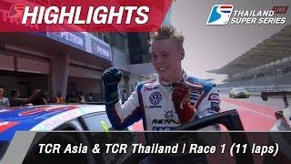Highlights TCR Asia & TCR Thailand : Sepang International Circuit Malaysia 1 Api 2018