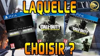Infinite Warfare - Quelle Edition Choisir ? ( Modern Warfare Remastered )
