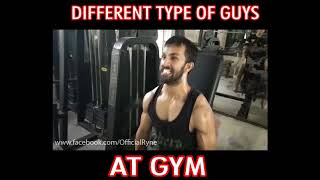 Different Type Of Guys At GYM | | Ryne Xylin | | Vines 2017