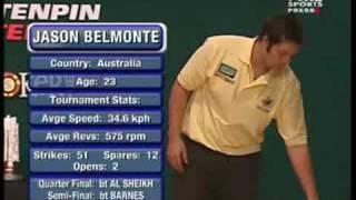 2007 World Tenpin Masters Final  Moor vs Belmonte Part 1