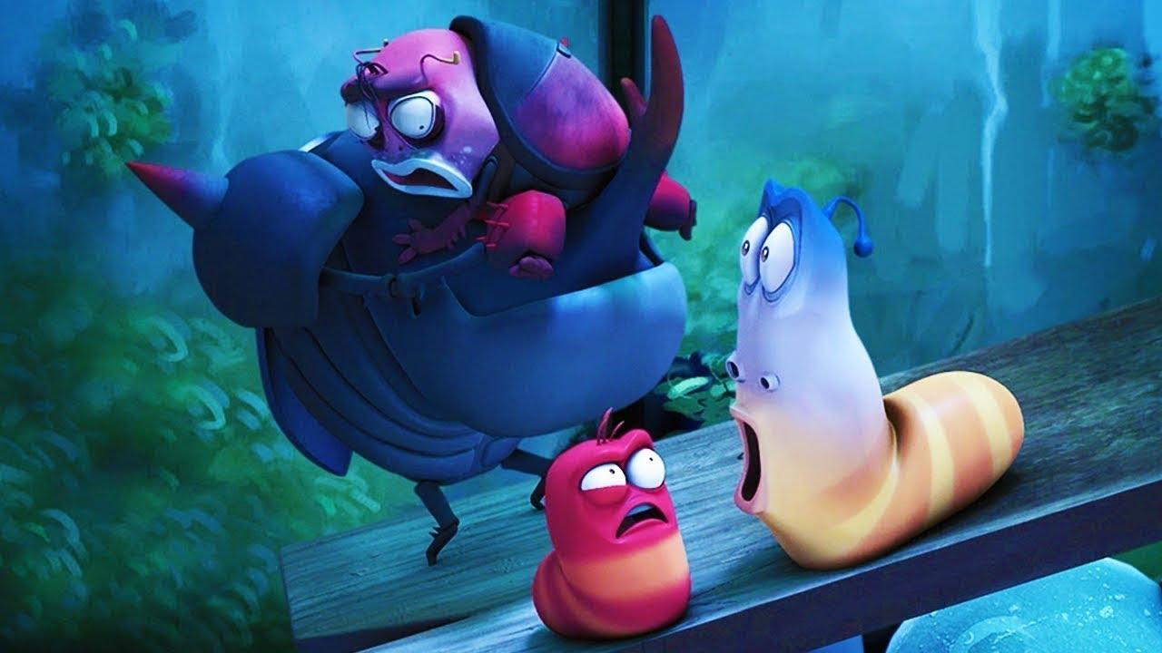LARVA | EDGE OF DANGER | Cartoon Movie | Cartoons For Children | Larva Cartoon | LARVA Official