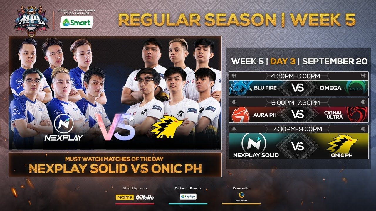 (Filipino LIVE) LIVE NOW: MPL-PH Season 6 Regular Season Week 5 Day 3