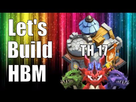 Castle Clash TH 17 HBM Base Speed Build