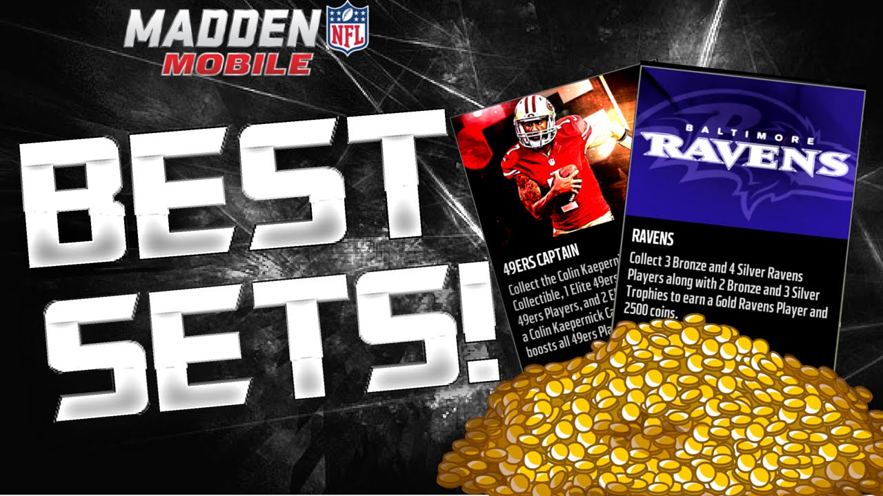 Best Sets To Complete For Easy Coins In Madden Mobile 16