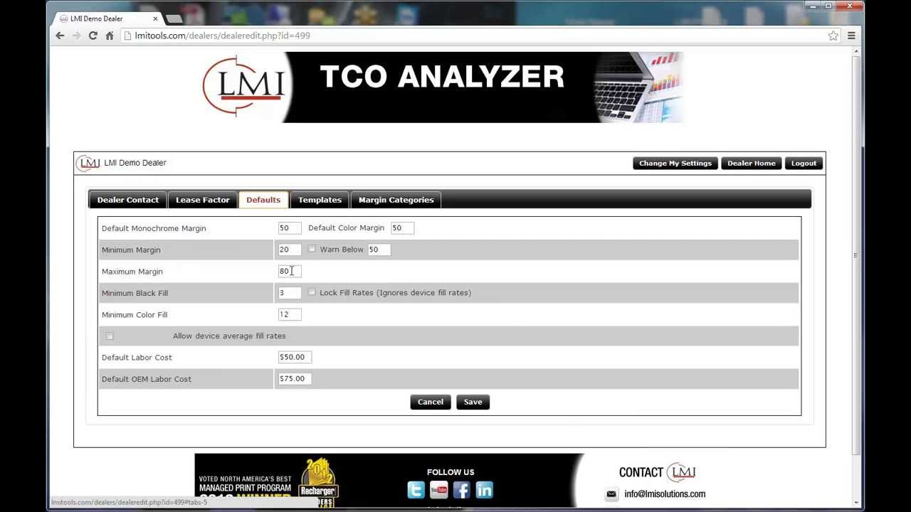 lmi tco training editing dealers youtube