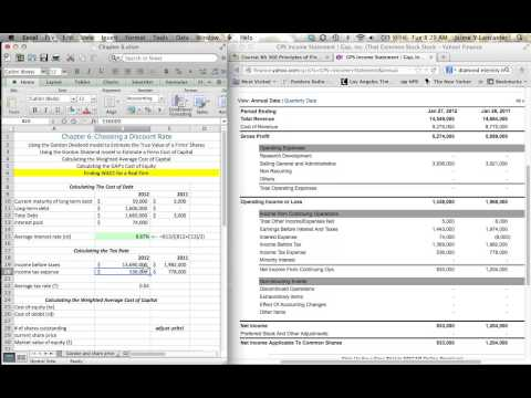 Chapter 6 - Calculating Weighted Average Cost Of Capital (WACC)