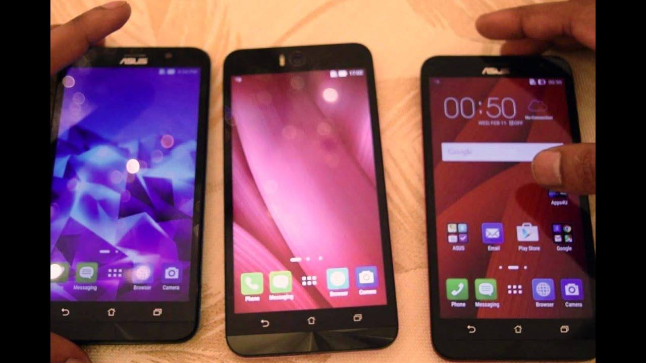 Asus Zenfone Selfie Vs 2 Laser 55 Comparison Youtube Selfi Zd551kl 4g Lte