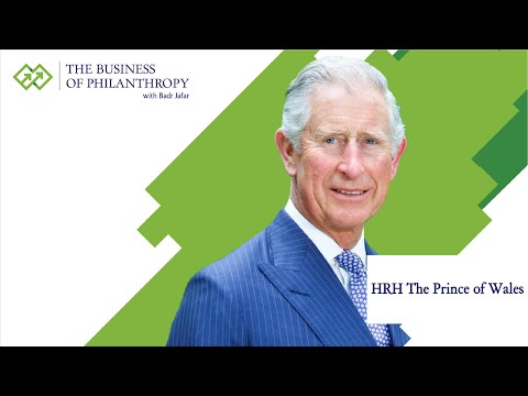 HRH The Prince of Wales; A Conversation with Badr Jafar