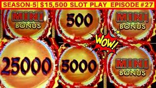 Dragon Link Golden Century Slot Machine HUGE WIN | SEASON 5 | EPISODE #27