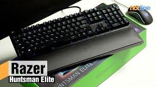 Razer Huntsman Elite — обзор игровой механической клавиатуры