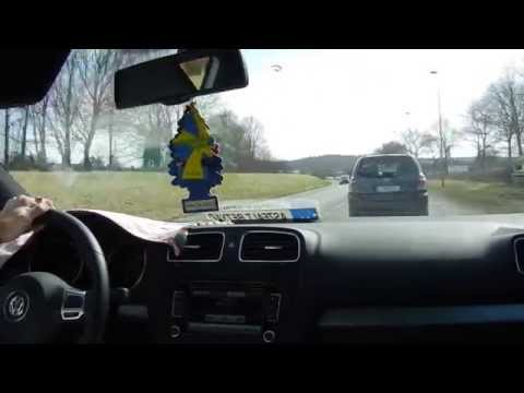 Driving in Sweden time lapse
