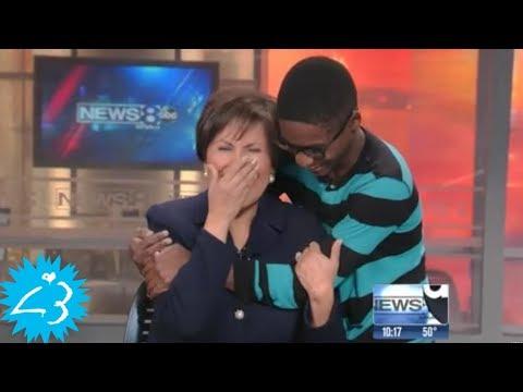 Diese Reporterin half diesen Jungen, was dann geschah ist rührend!